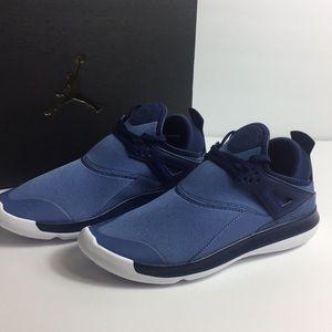 2226f6ea49010a Jordan Shoes - Nike Jordan Fly  89 Shoes Blue Moon Polarized NWT